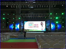 Indoor Rental P5 LED Suspended Display Screen High Contrast Ratio Wide Viewing Angle Powerful IC Energy Saving