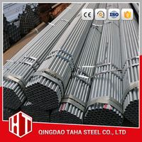 "2 1/2"" horse riding fence china factory and exporter pre galvanized steel pipes"