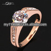 18K Gold Plated Vintage Engagement Jewelry For Men and Women