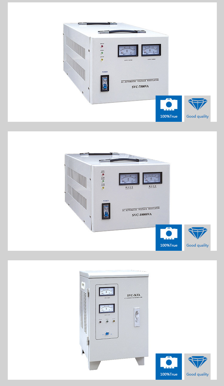 2015 New Product Automatic Voltage Stabilizer Specification 220v 3kw With High Quality