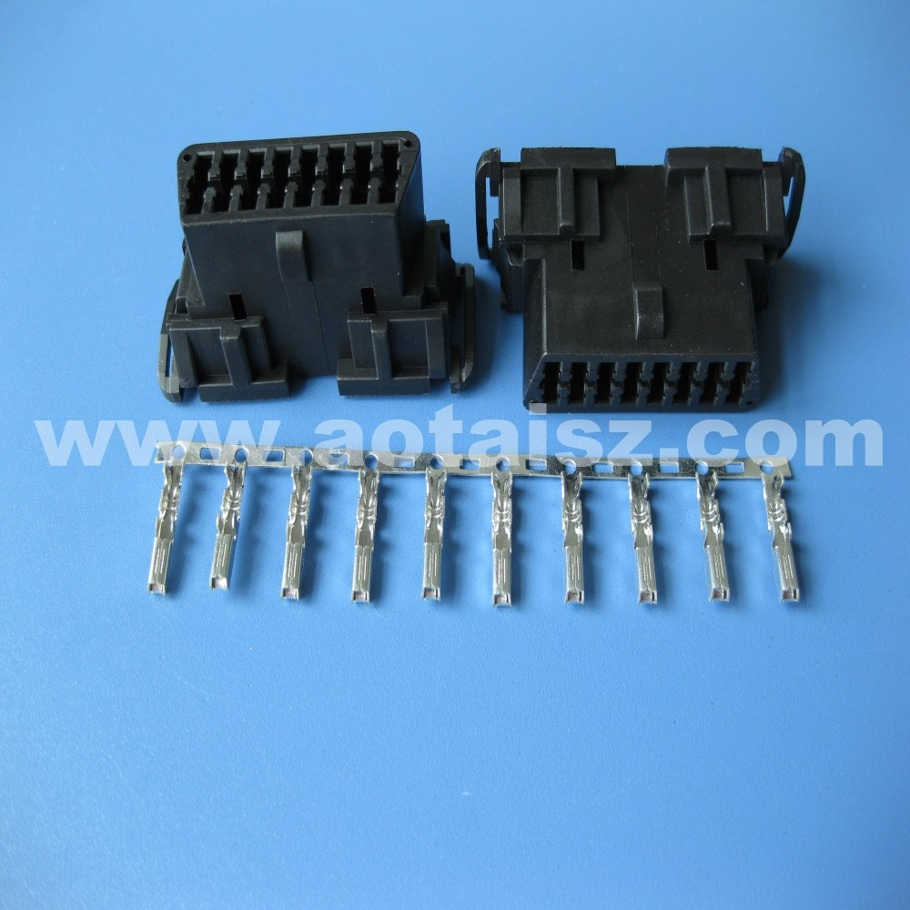 China obd diagnosic plug OBD2 female connector for car