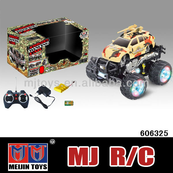 2016 new plastic ABS 4ch rc jeep toy