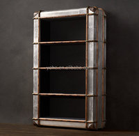 High quality Richards trunk book case,classic bookcase
