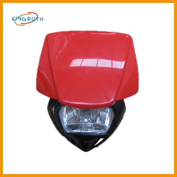 New style popular dirt bike motorcycle universal vision headlight