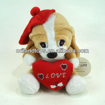 Talking Mr Dog Valentine's Animals Gift