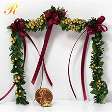 Wholesale christmas door decorative lighted garland