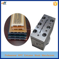 China WPC Wooden Plastic Wall Panel Extrusion Molds Making