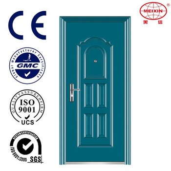 Powder-Coated Exterior Safety door, Stainless Steel Front Door
