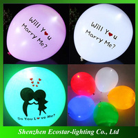 2016 New Coming Party Decoration Led Balloon , Luminous Flashing Led Balloon , LED Glow Balloon
