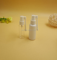 Wholesale bulk price! Sterile plastic nasal spray bottles, nasal spray bottle with pump, nose spray