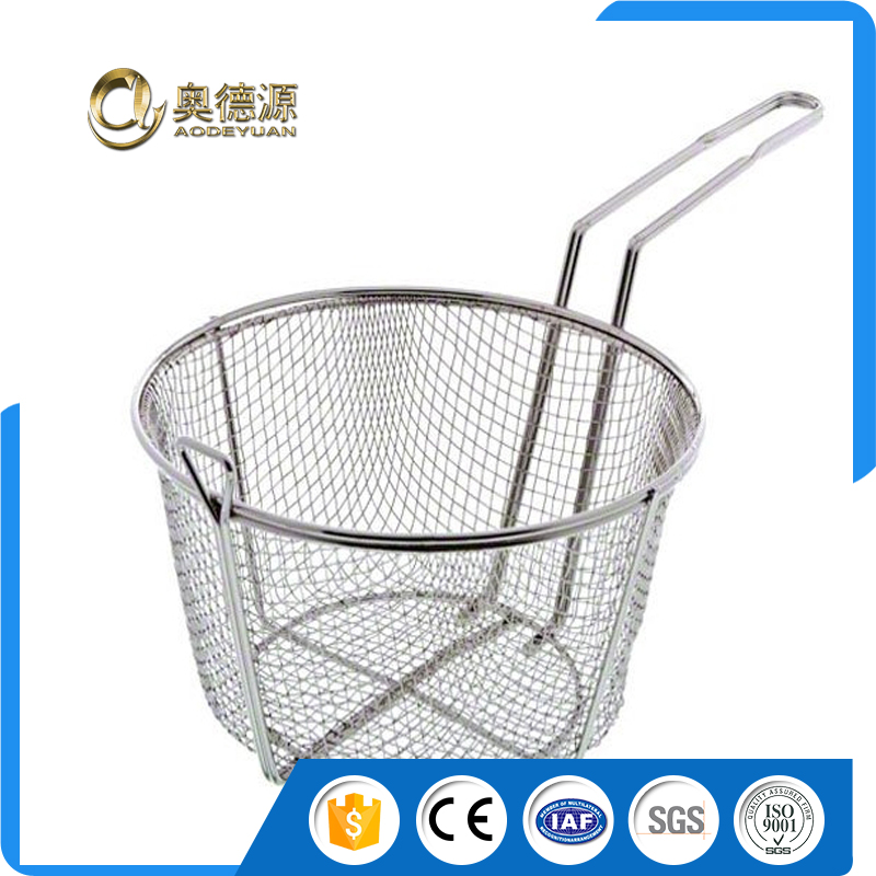 french fries basket/ wire mesh basket/ Cooking filter Basket stainless steel manufacture