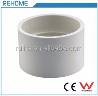 White Quick Coupling ASTM D2665 Sewerage PVC DWV Pipe Fitting