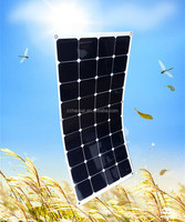115W semi amorphous silicon thin film flexible solar panel