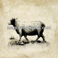 Wholesale Classic Sheep Wall Canvas Painting