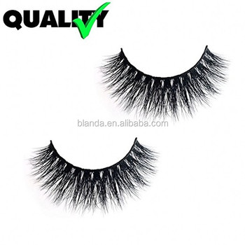 Most Fashionable Mink Fur False Eyelashes 3D lashes Made of 100% Siberian Mink Fur Vivid and Shiny and Soft