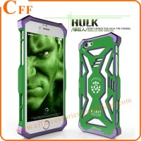 Marvel's The Avengers Strong Hulk Aluminum Cell Phone Case for iPhone 5 6 6s plus