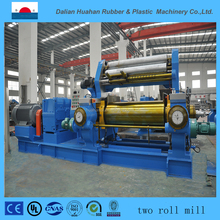 Open roll mixing machine/two roll mill rubber mixer