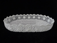 100% crochet cotton tray by New Design