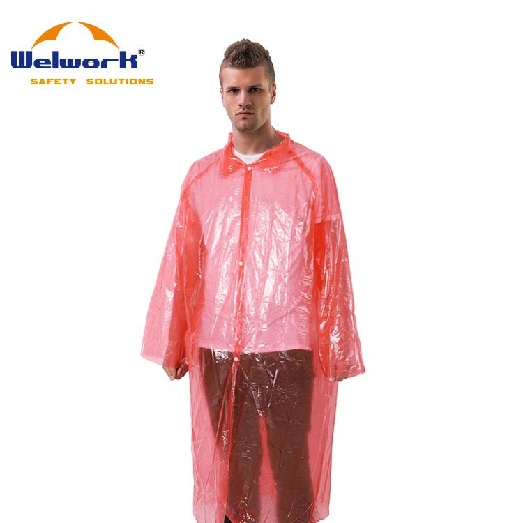 Hot SellingColorful Customized disposable raincoat/rain coat