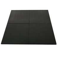 Fire-proofing pressure proof soft rubber flooring gym
