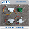 Micro pulse hall water flow sensor, bared type 6.35 mm quick connection coffee machine flow sensor for low ranges