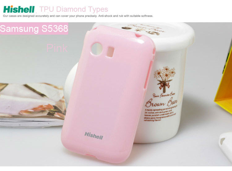 Jeweled Cell Phone Case For Samsung S5368