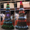 2016 New RGB Artificial Tree for Christmas Home Decorations
