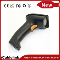 2.4G wireless Hand Held Handheld Visible Laser Scan Barcode Bar Code Scanner Scan Reader black