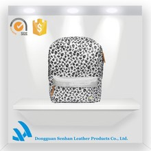 Fashion backpack/Girl School Bag/Teenage Girl School Bags with black and white spot