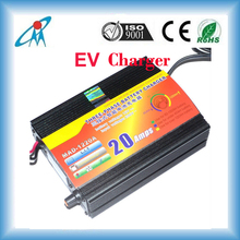 Three Stages Electric Vehicle Battery Charger 12v 24v