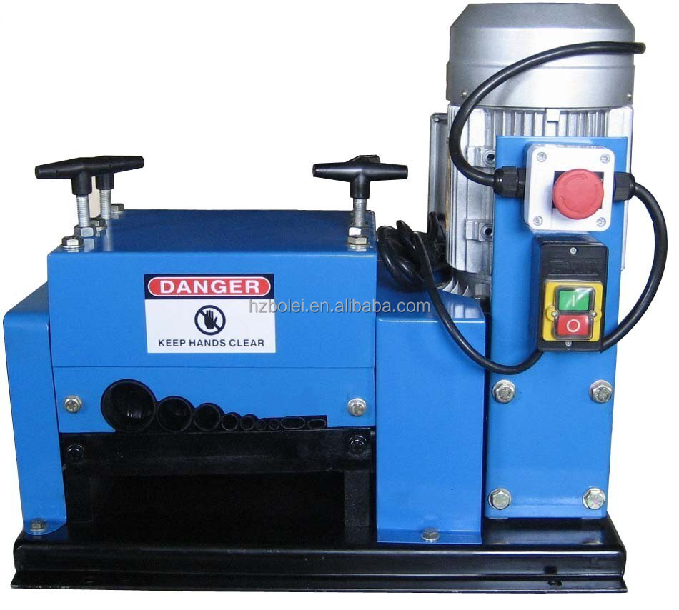 Electric Scable copper wire stripping machine 2HP