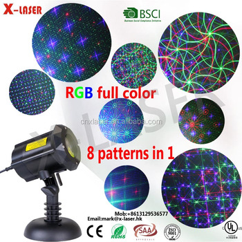 2017 new product indoor&outdoor Christmas laser projector lights