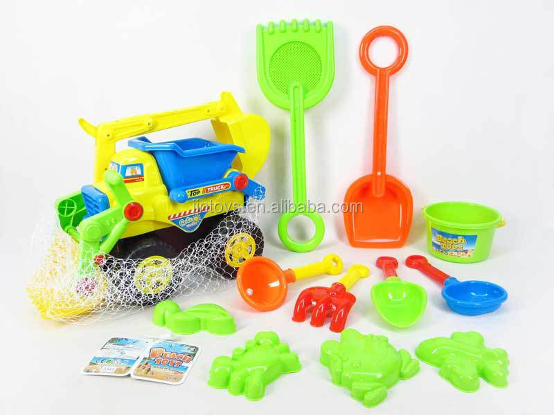 2015 summer toys beach car toy sand shovel mini bucket beach dump truck toy