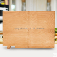 Complete the whole bamboo chopping block cutting board 0 glue, safe kitchen FDA products, 44 x30x2 cm custom