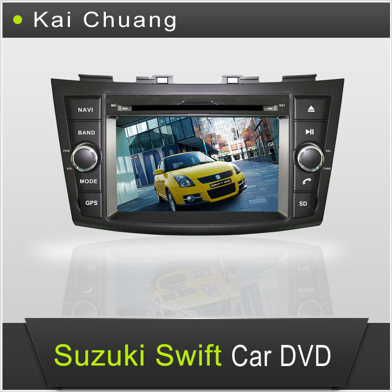Suzuki Swift 2010 Touch Screen Car DVD Player GPS with All Functions