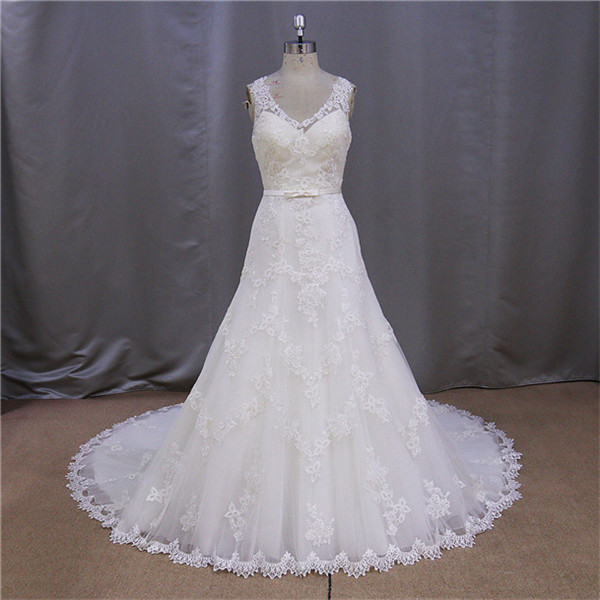 2016 alibaba tea length sheath wedding dress with long sleeves jacket