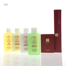 Travel toiletries fancy disposable hotel bathroom supplies
