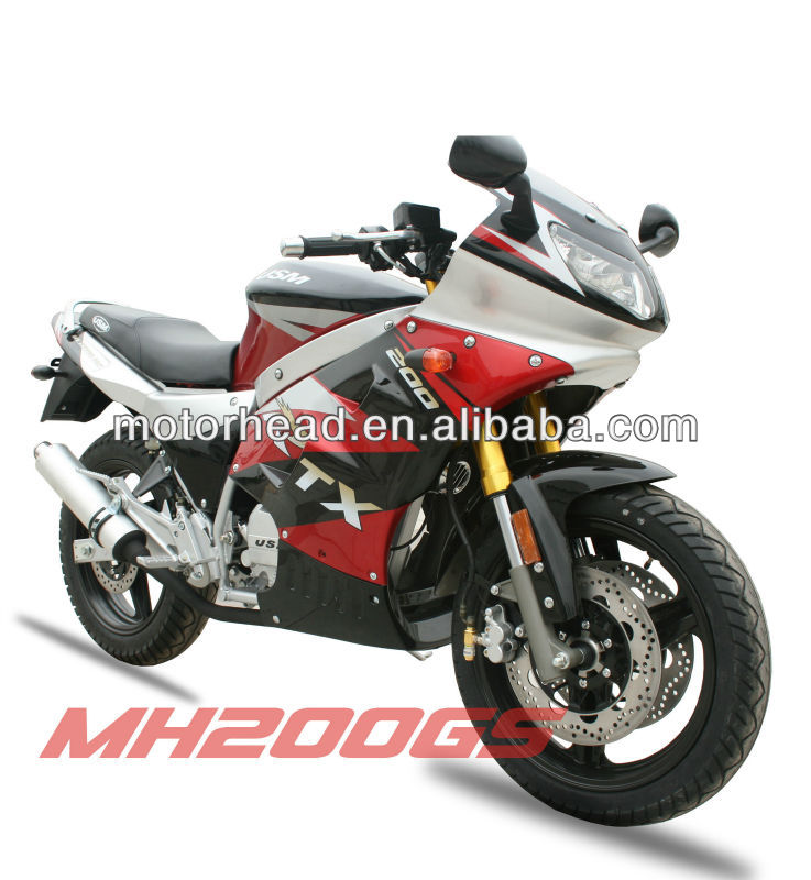 street racing bike MH200GS motorcycle,200cc racing bike for sale