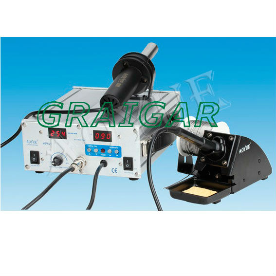 2 AOYUE Solder Station 110V AOYUE 899A+ AOUYE Repairing System for Aoyue 899A+ Hot Air SMD Solder Iron