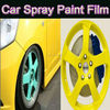 GAR Rubber Coating Spray MSDS rubber paint quick dry flexible stretch self adhesive yellow plastic dip for cars rim wheel tire