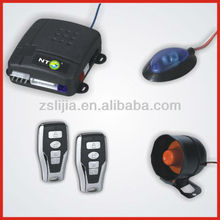 Auto alarma ,Car Alarm with shock sensor built-in for South America market from 15 years manufacturer