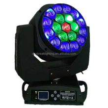 K10 B-EYE Stage RGBW 4in1 Beam Zoom Bee eye 19x15w led moving head light