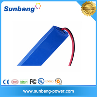 CE FCC MSDS ROHS approved T8 LED 12v 1200mah power supply with battery backup