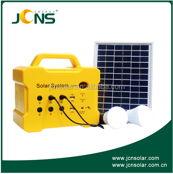 solar energy lighting kit, mini solar power generator for home