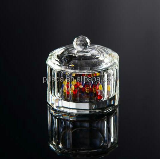 Clear Cheap Diamond Shaped Home Collections Mini Jewelry Box Elegant Birthday Gift k9 crystal glass jewelry trinket box