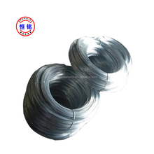 high tensile strength 4mm middle carbon galvanized steel wire for nail making from factory