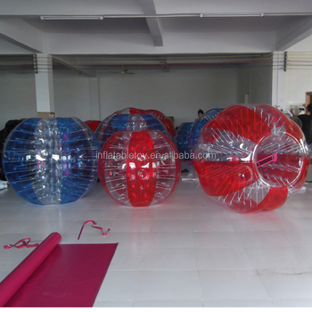 inflatable body bumper ball for adult