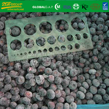 2017 new crop frozen IQF blueberry Chinese wild blueberry in bag pachage