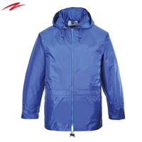 Factory Length Wholesale Wind cheater Model Fashion Outdoor rain coat Jacket For Man