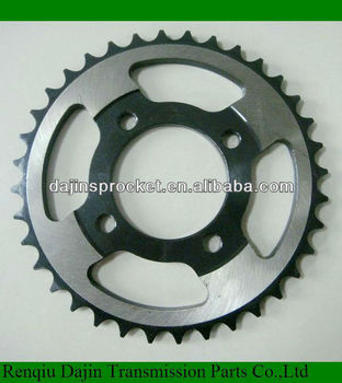 Dajin C45 steel bmx sprockets steel chain wheel sprocket of material c45 carbon steel sprocket